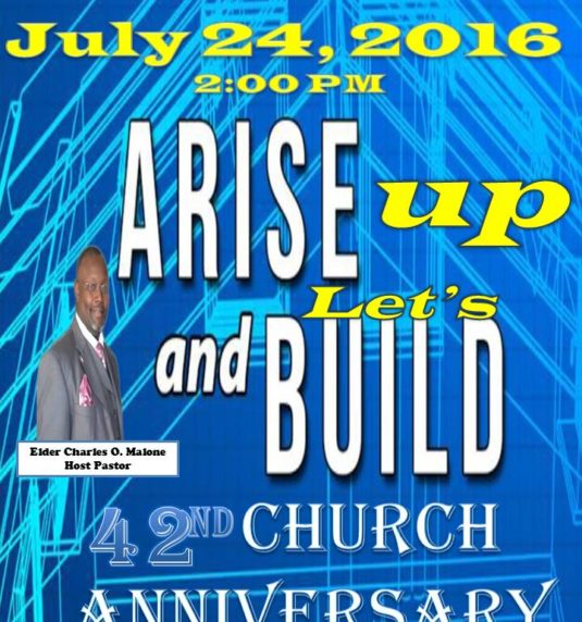 42nd Church Anniversary