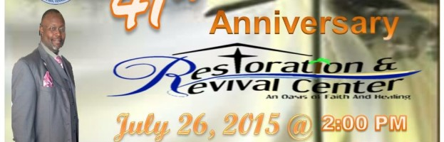 41st Church Anniversary